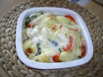 Gnocchi- Gemüse Auflauf - Rezept