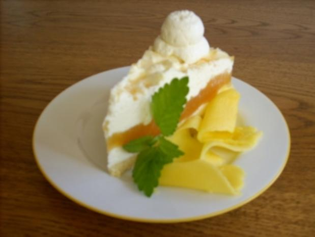 Marmorierte Mango-Joghurt-Torte - Rezept - Bild Nr. 5