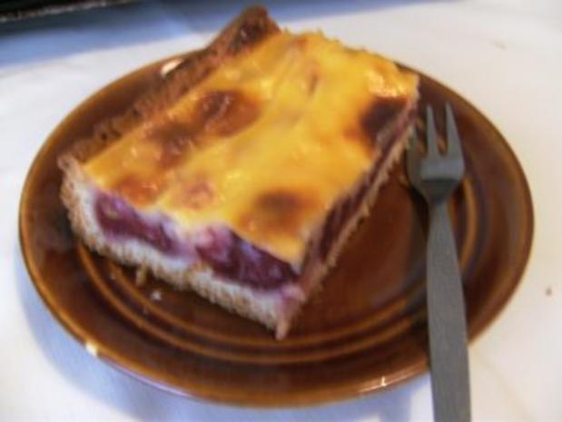 Blechkuchen Kirschkuchen Mit Pudding Rezept Kochbar De