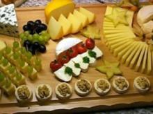 Käseplatte zum Wein - Rezept