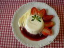 Joghurt mit Erdbeeren - Rezept