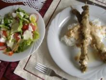 Rindfleisch-Satay mit Erdnusssauce - Rezept