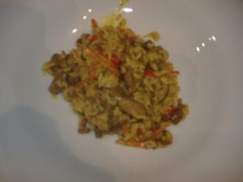 Scharfes Rindercurry mit Kokos - Rezept
