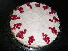 Johannisbeer-Sahne-Torte - Rezept
