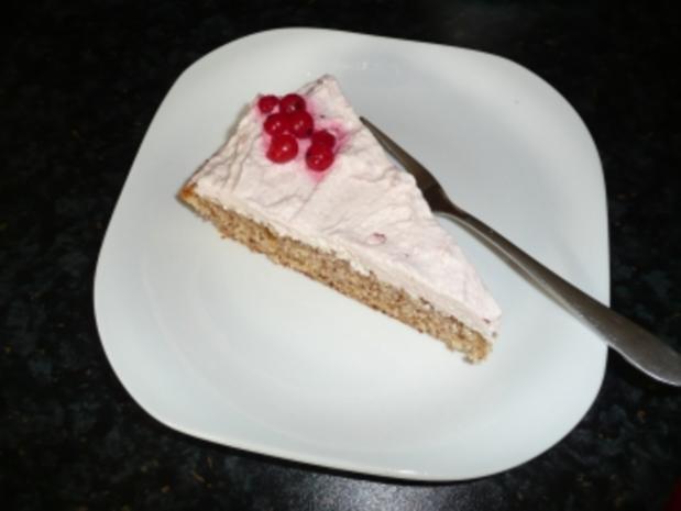 Johannisbeer-Sahne-Torte - Rezept - Bild Nr. 2