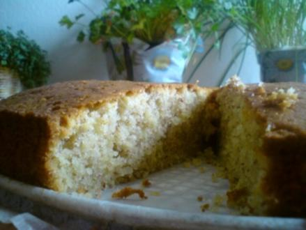 Mandel-Grieß-Torte - Rezept