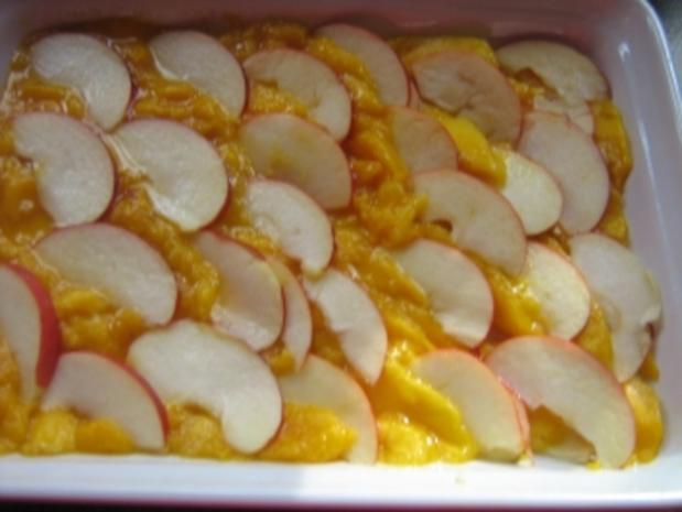 Apfel-Mango-Carpaccio mit Garnelen - Rezept - Bild Nr. 3