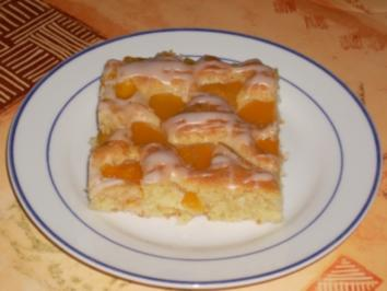 Schneller Aprikosen-Kuchen - Rezept