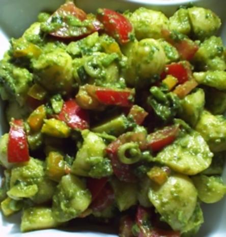 Green-Potato-Salad - Rezept