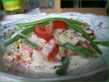 Bohnensalat griechische Art - Rezept