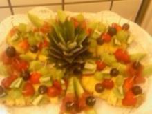 Obst-Platte - Rezept