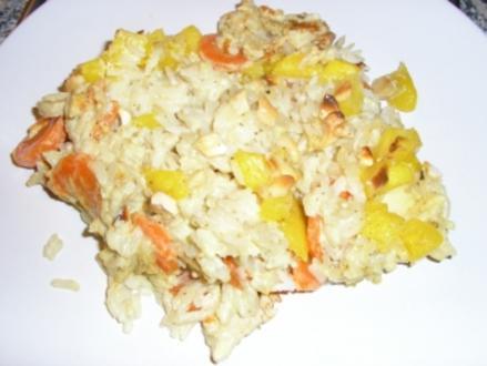 Curry-Auflauf - Rezept