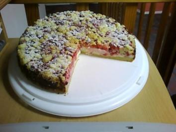 Johannisbeeren-Streuselkuchen - Rezept