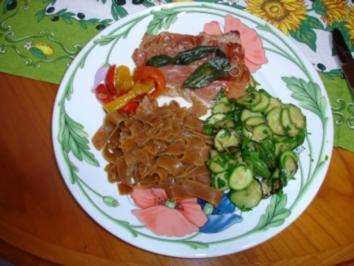 Saltimboca (klassisch) - Rezept