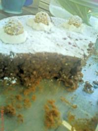 Mandel-Schoko-Torte meiner Tochter Laura - Rezept