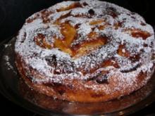 Glasierter Apfelkuchen - Rezept