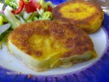Zucchini paniert - Rezept