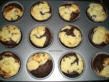 Black & White-Muffin - Rezept