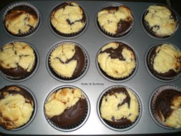 Rezept: Black & White-Muffin