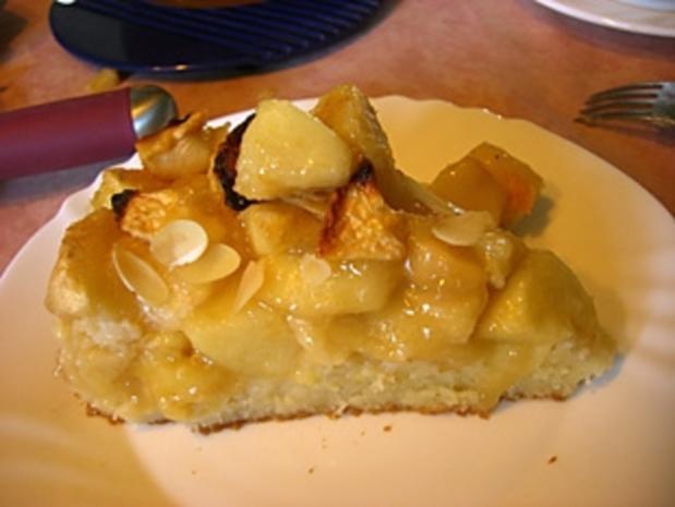 Apfelkuchen mit Vanillepudding - Rezept - Bild Nr. 2