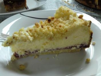 Rezept: Mascarpone-Quark-Streusel-Torte