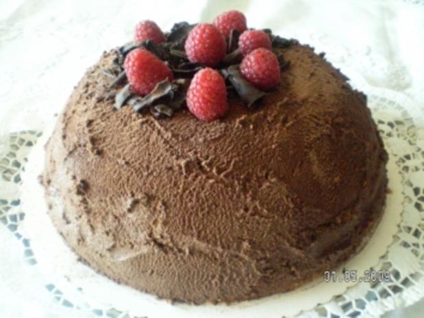 Himbeertrüffel-Torte - Rezept