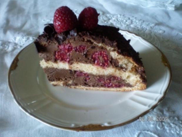 Himbeertrüffel-Torte - Rezept - Bild Nr. 10