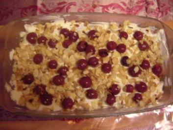 Quark-Lasagne mit Kirschen - Rezept