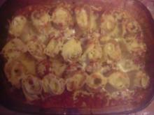 Lasagne-Röllchen mit Ricotta-Schinken-Füllung - Rezept