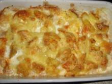 Kartoffelauflauf mit Eiern - Rezept