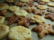 Waben- und Sternentaler mit Zimt und Zucker - Rezept