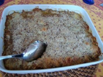 Rezept: *Vollwert - Grünkern-Gemüse-Auflauf
