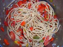Nudelsalat italenische Art - Rezept