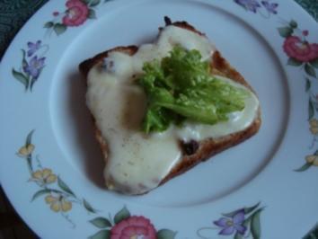 XY/ Feinsch - Diät - Abend - Mozzarellatoast - Rezept