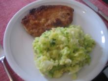 Spitzkohl mit Kartoffeln untereinander - Rezept