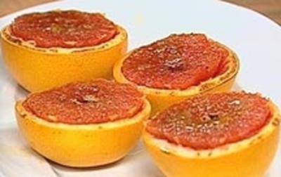 Gratinierte Grapefruit - Rezept