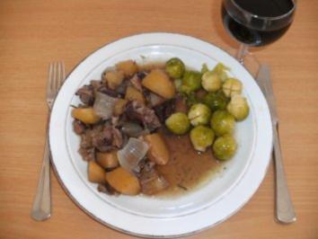 Fleisch: Lammhaxe geschmort - Rezept