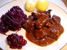 Wildschwein-Gulasch - Rezept - Bild Nr. 3451