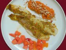 Pangasiusfilets auf Papaya-Sambal mit Süßkartoffelpüree - Rezept - Bild Nr. 9