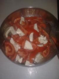 Tomaten-Mozarella Salat - Rezept