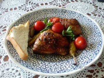 Hähnchen in Chianti - Rezept