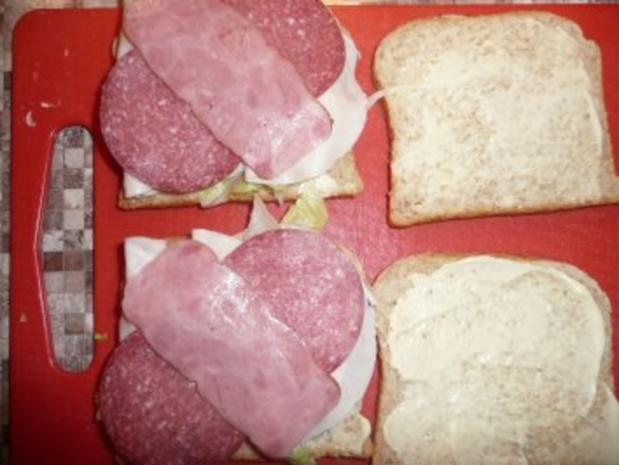 American Sandwich - Rezept - Bild Nr. 5
