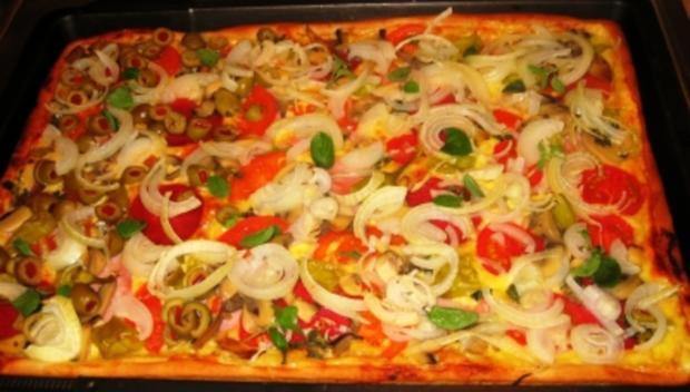 "Pizza: Lisa's Pizza ""Spezial"" - Rezept - Bild Nr. 3"