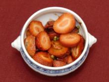 Erdbeeren mit grünem Pfeffer und Balsamicocreme (Anita Kupsch) - Rezept