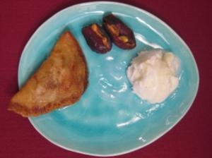 Ataif Mihisi - Gefüllte Pfannkuchen mit Zitronensorbet - Rezept