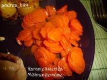 Karamelisiertes Möhrengemüse - Rezept