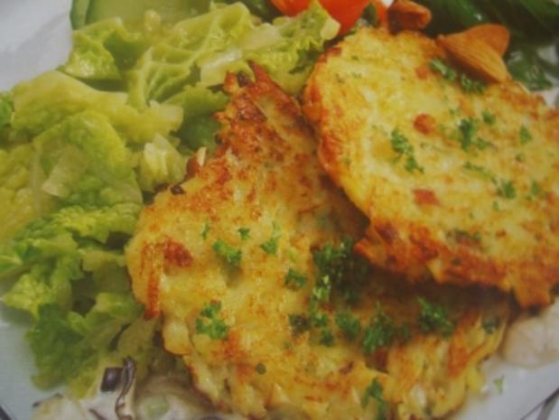 Kohlrabi-Kartoffelrösti - Rezept