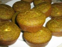 Spinat Mais Mehl Muffins - Rezept