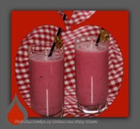 Rezept: himbeer- joghurt- smoothie