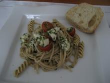Spagettisalad - Rezept
